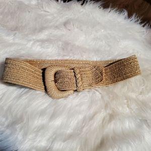 "Fun 1980s woven vintage belt size 30"""